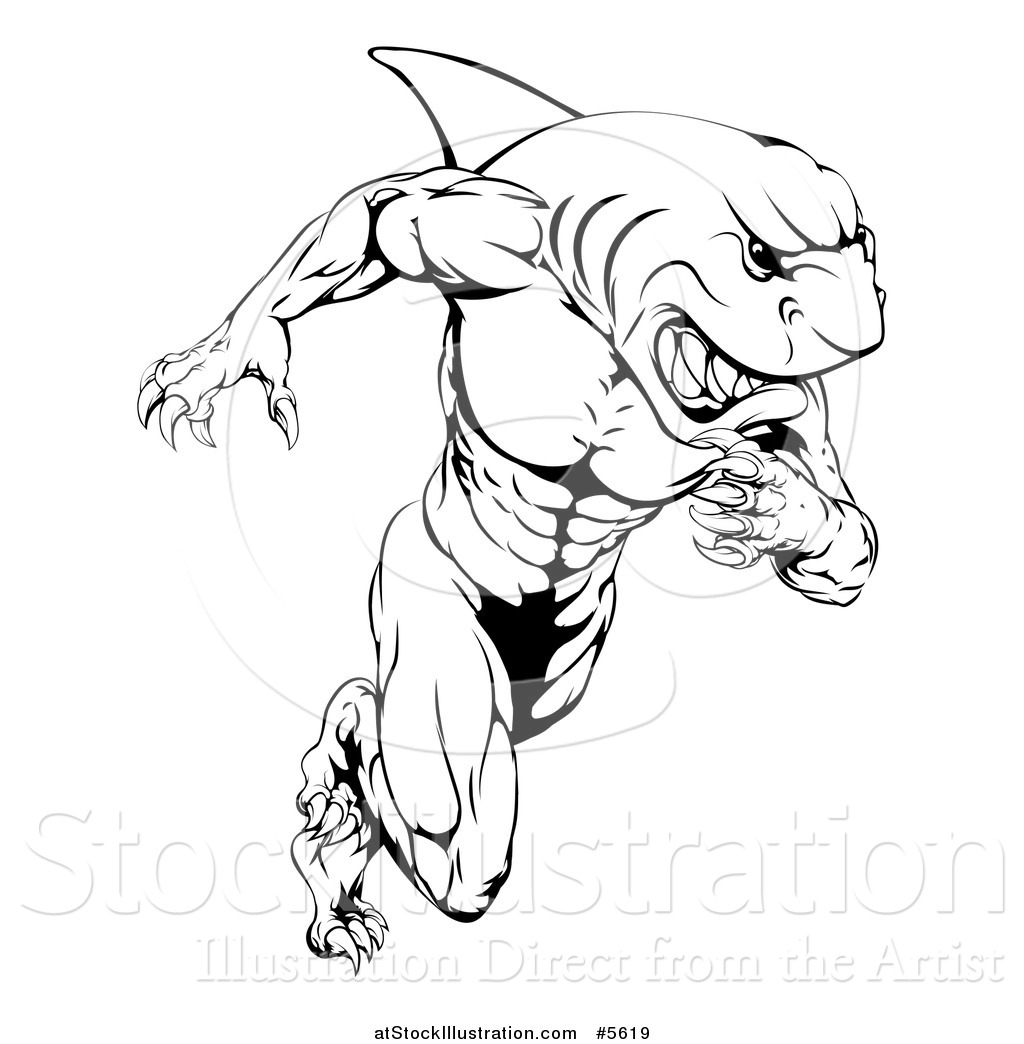 muscle man coloring pages - photo#21