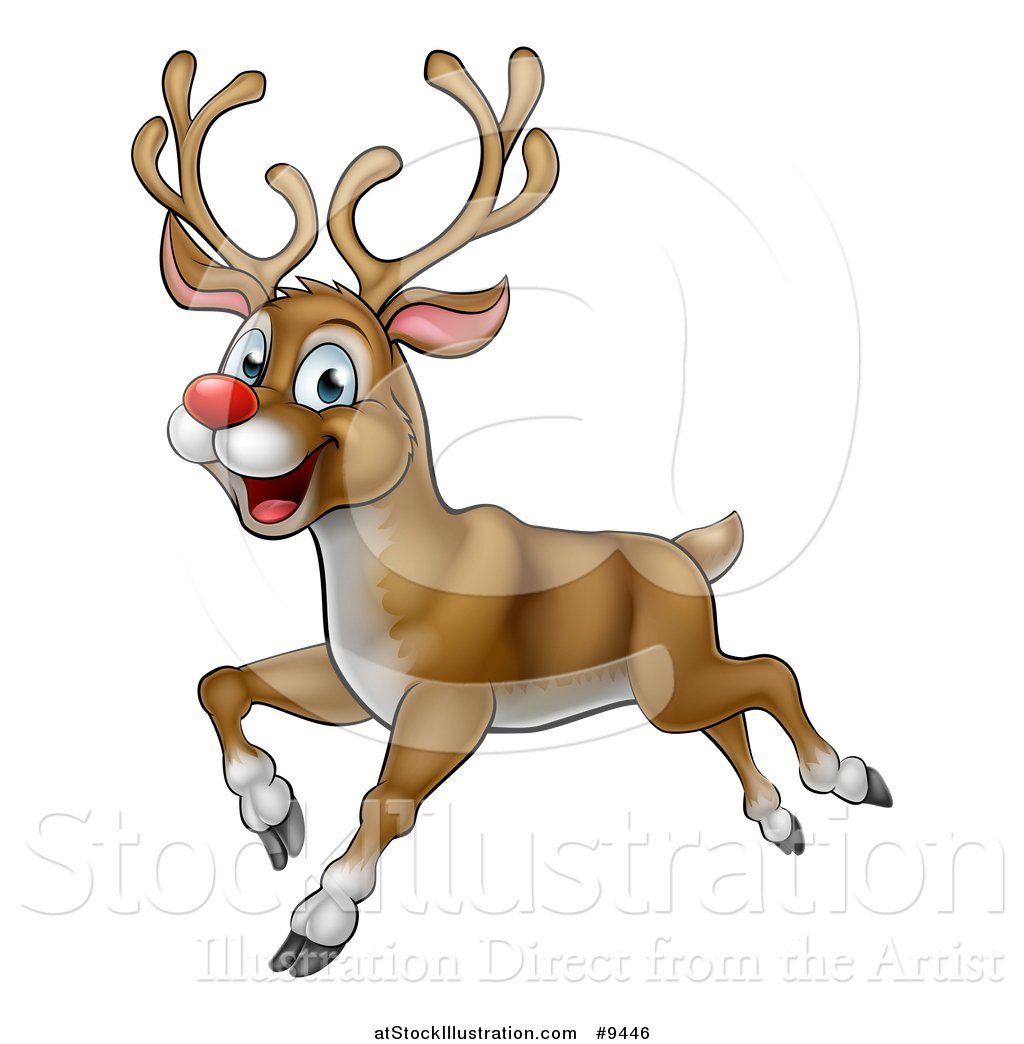 Real rudolph the red nosed reindeer flying - photo#30