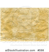 Illustration of a Wrinkled Aged Looking Paper Background by AtStockIllustration