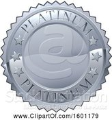 Illustration of Platinum Medal by AtStockIllustration