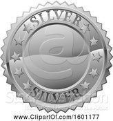 Illustration of Silver Medal by AtStockIllustration