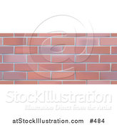 Vector Illustration of a Brick Wall Background by AtStockIllustration
