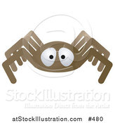 Vector Illustration of a Brown Spider by AtStockIllustration