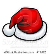 Vector Illustration of a Cartoon Red Santa Hat by AtStockIllustration