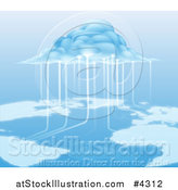 Vector Illustration of a Cloud Computing Information by AtStockIllustration
