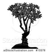 Vector Illustration of a Couple Formed in the Trunk by AtStockIllustration