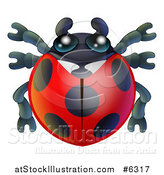 Vector Illustration of a Cute Ladybug by AtStockIllustration