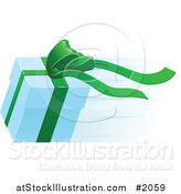 Vector Illustration of a Fast Delivery Gift Box by AtStockIllustration