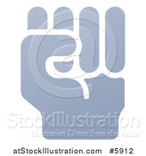 Vector Illustration of a Fisted Hand by AtStockIllustration