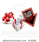 Vector Illustration of a Gift Box by AtStockIllustration