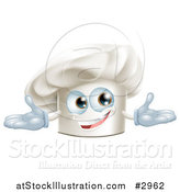 Vector Illustration of a Happy Chef Hat Mascot by AtStockIllustration