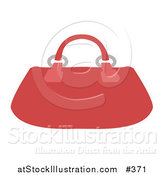 Vector Illustration of a Red Purse by AtStockIllustration
