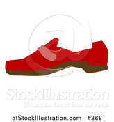 Vector Illustration of a Red Shoe by AtStockIllustration