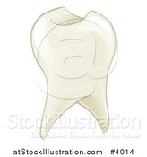 Vector Illustration of a Shiny Tooth by AtStockIllustration