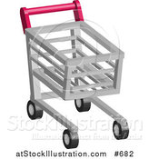 Vector Illustration of a Shopping Cart by AtStockIllustration