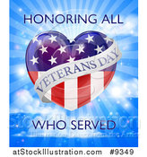 Vector Illustration of a Veterans Day Design by AtStockIllustration