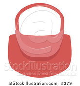 Vector Illustration of a Woman's Pink Purse by AtStockIllustration