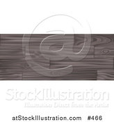 Vector Illustration of a Wood Background by AtStockIllustration