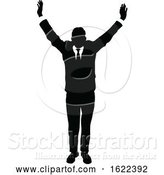 Vector Illustration of Business People Silhouette by AtStockIllustration