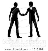 Vector Illustration of Business People Silhouette, on a White Background by AtStockIllustration