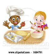 Vector Illustration of Cartoon Child Chefs by AtStockIllustration