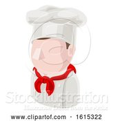 Vector Illustration of Chef Guy Avatar People Icon by AtStockIllustration