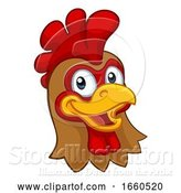 Vector Illustration of Chicken Rooster Cockerel Character by AtStockIllustration