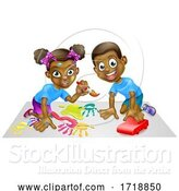 Vector Illustration of Children Playing by AtStockIllustration