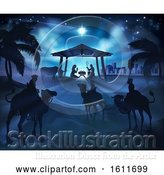 Vector Illustration of Christmas Nativity Scene by AtStockIllustration