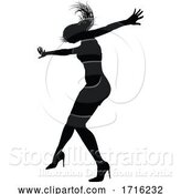Vector Illustration of Dance Dancer Silhouette by AtStockIllustration