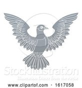 Vector Illustration of Dove Concept by AtStockIllustration