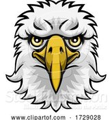 Vector Illustration of Eagle Mascot Character by AtStockIllustration