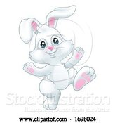 Vector Illustration of Easter Bunny Rabbit by AtStockIllustration