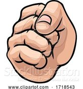 Vector Illustration of Fist Punch Hand by AtStockIllustration