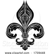 Vector Illustration of Fleur De Lis Graphic by AtStockIllustration