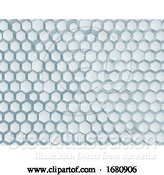 Vector Illustration of Hexagon Honeycomb Abstract Geometric Background by AtStockIllustration