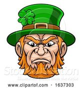 Vector Illustration of Leprechaun Mascot by AtStockIllustration