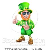 Vector Illustration of Leprechaun St Patricks Day Character by AtStockIllustration
