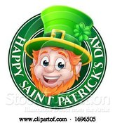 Vector Illustration of Leprechaun St Patricks Day Design by AtStockIllustration