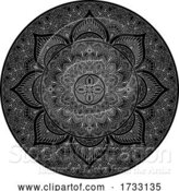 Vector Illustration of Pattern Motif Mandala Art Ornament Design Element by AtStockIllustration