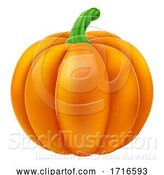 Vector Illustration of Pumpkin Halloween by AtStockIllustration