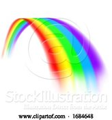 Vector Illustration of Rainbow Design by AtStockIllustration