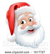 Vector Illustration of Santa Claus Father Christmas Character by AtStockIllustration