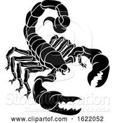Vector Illustration of Scorpion Scorpio Zodiac Sign Design by AtStockIllustration