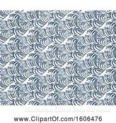 Vector Illustration of Seamless Japanese Great Wave Repeating Background by AtStockIllustration