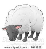 Vector Illustration of Sheep Animal Character by AtStockIllustration