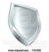 Vector Illustration of Shield Icon Secure Protect Security Concept Icon by AtStockIllustration
