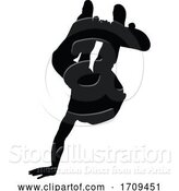 Vector Illustration of Skateboarder Skater Silhouette by AtStockIllustration