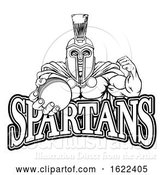 Vector Illustration of Spartan Trojan Cricket Sports Mascot by AtStockIllustration