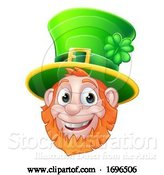 Vector Illustration of St Patricks Day Leprechaun by AtStockIllustration